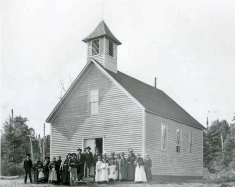 St. Xavier Church northeast of Grand Marais Minnesota, 1910
