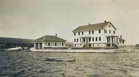 Coast Guard Station, Grand Marais Minnesota, 1936