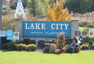 Lake City Welcome Sign