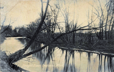 Straight River, Owatonna Minnesota, 1909