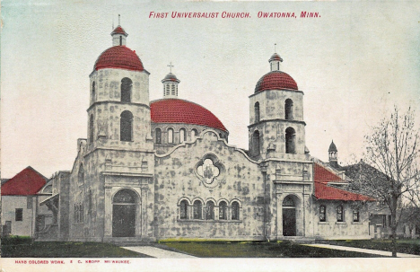 First Universalist Church, Owatonna Minnesota, 1907