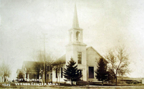 Baptist Church, Vernon Center Minnesota, 1913