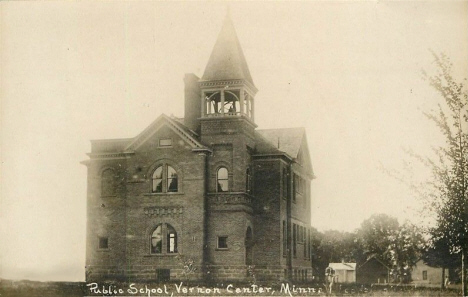 Public School, Vernon Center Minnesota, 1910's