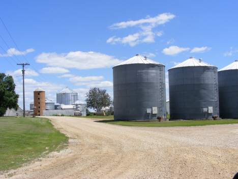 Grain elevators, Vernon Center Minnesota, 2014