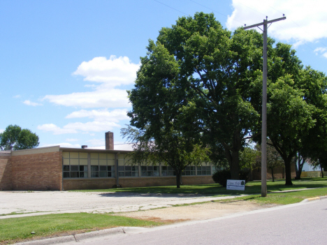 Former school, now Rivers Edge Church, Vernon Center Minnesota, 2014