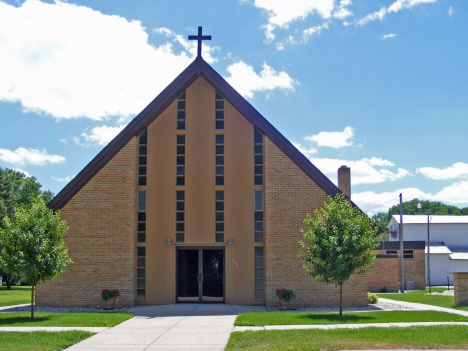 St. Matthew's Catholic Church, Vernon Center Minnesota, 2014