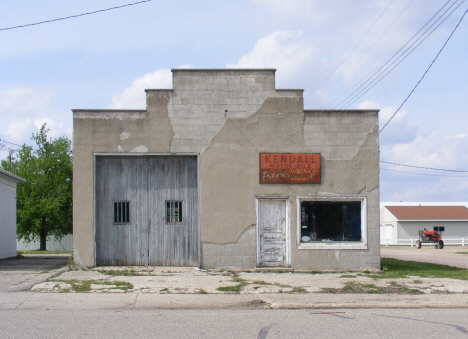 The former Baldie's Wrench Shop, Wilmont Minnesota