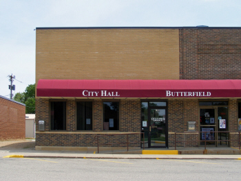 City Hall, Butterfield Minnesota