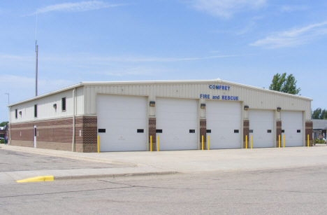 Comfrey Fire and Rescue, Comfrey Minnesota, 2014