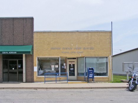 POst Office, Darfur Minnesota, 2014