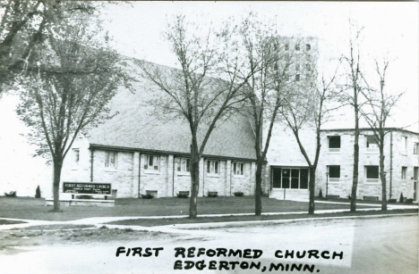 First Reformed Church, Edgerton Minnesota, 1950's