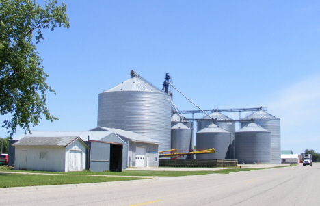 Grain elevators, Edgerton Minnesota, 2014