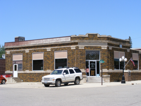 Former bank building, Edgerton Minnesota, 2014