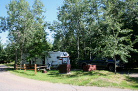 Knife Island Campground, Esko Minnesota