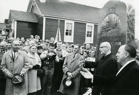 Finnish President Urho Kekkonen on his visit to Esko in 1961, Esko, Minnesota