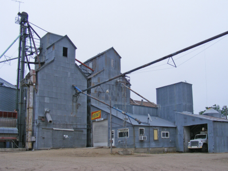 Grain elevators, Evan Minnesota, 2011