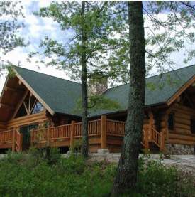Custom Northern Log Homes, Kelliher Minnesota