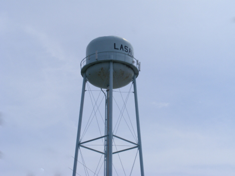 Water tower, La Salle Minnesota, 2014