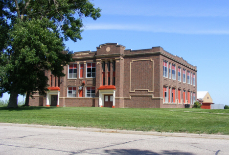 Former public school, now Southwestern Youth Services, Magnolia Minnesota, 2014