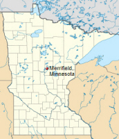 Location of the community of Merrifield