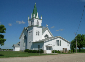 Jevnaker Lutheran Church, Montevideo Minnesota