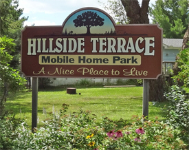 Hillside Terrace Mobile Home Park, Moose Lake Minnesota