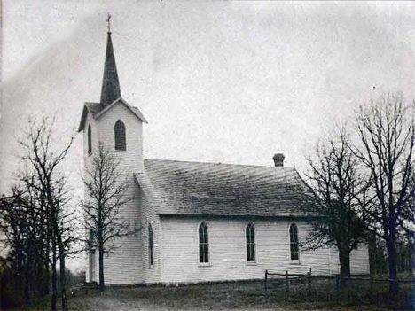 Mamrelund Church near Pennock Minnesota, 1900