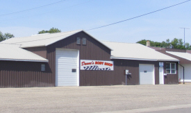 Duane's Body Shop, Westbrook Minnesota