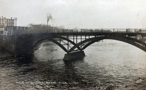 Main Street Bridge over the Rum River, Anoka Minnesota, 1920's
