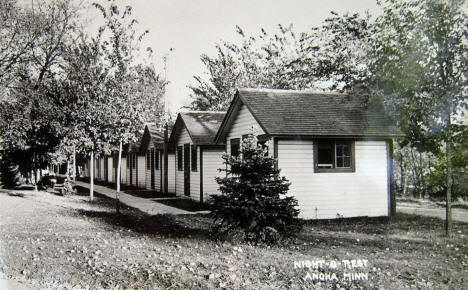 Night-O-Rest Cabins, Anoka Minnesota, 1940's
