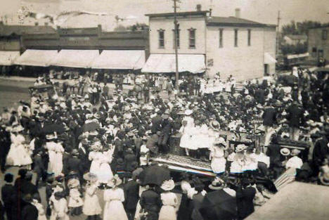 Independence Day, Barnesville Minnesota, 1910