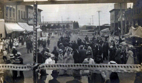 4th of July Celebration, Blooming Prairie Minnesota, 1910's