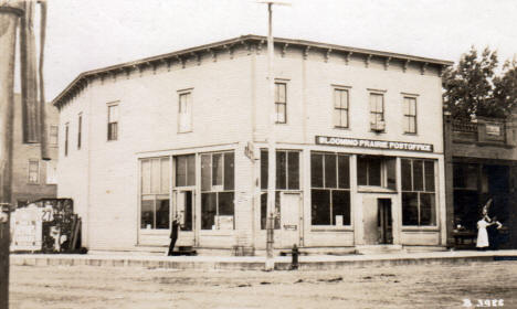 Post Office, Blooming Prairie Minnesota, 1910