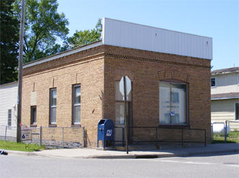 US Post Office, Bock Minnesota