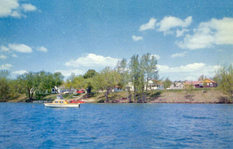 Old Town Camp on Clitherall Lake, Clitherall Minnesota, 1950's