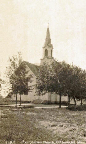 Presbyterian Church, Cottonwood Minnesota, 1910's