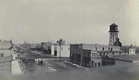 Main Street, Cottonwood Minnesota, 1910's
