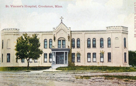 St. Vincent's Hospital, Crookston Minnesota, 1911