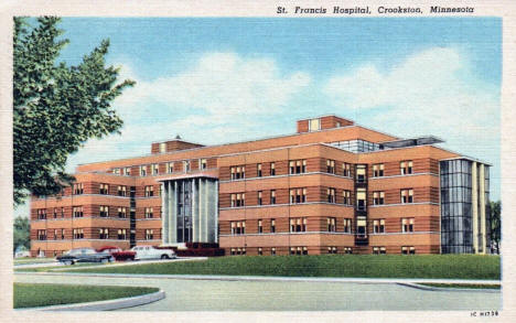 St. Francis Hospital, Crookston Minnesota, 1951