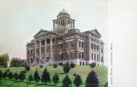 Court House, Crookston Minnesota, 1906