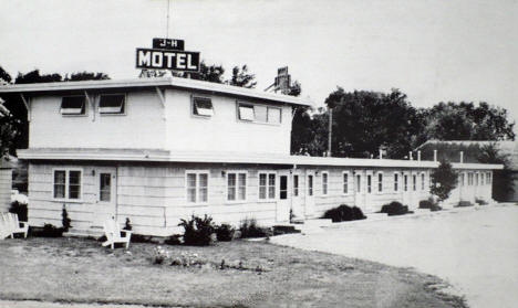 J-H Motel, Crookston Minnesota, 1950's