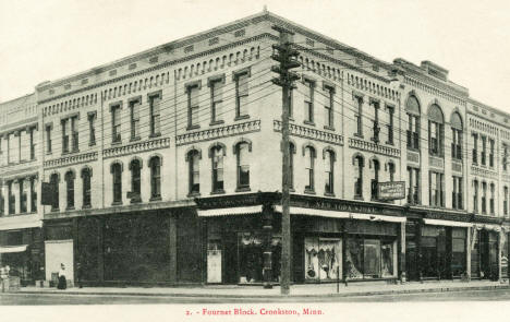 Fournet Block, Crookston Minnesota, 1908