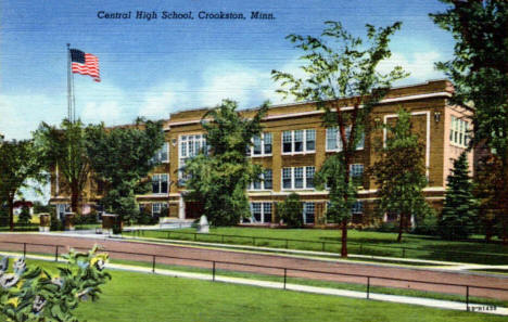 Central High School, Crookston Minnesota, 1946
