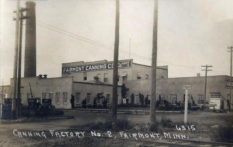 Canning Factory #2, Fairmont Minnesota, 1920's