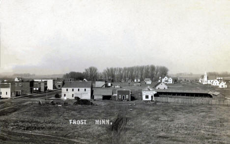 General view, Frost Minnesota, 1908