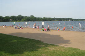 Antlers Park & Swimming Beach, Lakeville Minnesota