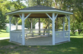 Gazebo at Veterans Park, Mendota Minnesota