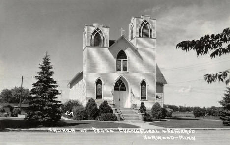 Church of Peace Evangelical and Reformed, Norwood Minnesota, 1950's
