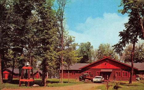 American Lutheran Memorial Camp on Lake Shakopee, Onamia Minnesota, 1961