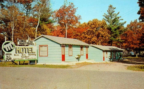 M's Motel and Resort, Onamia Minnesota, 1961
